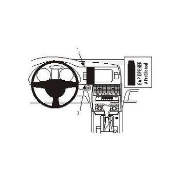 Brodit ProClip montážní konzole pro Audi Q7 06-15, na střed vlevo