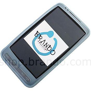 Silikonové pouzdro - HTC HD2 Leo (ledová)
