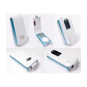 Krusell pouzdro Music - Apple iPod mini - bílá