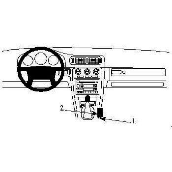 Brodit ProClip montážní konzole pro Volvo V70 97-00, na středový tunel