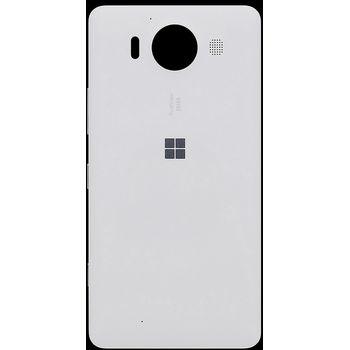 Náhradní díl na Microsoft Lumia 950 kryt baterie bílý
