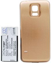 Baterie pro Samsung Galaxy S5 mini rozšířená včetně zadního krytu zlatá, Li-Ion, 3800 mAh