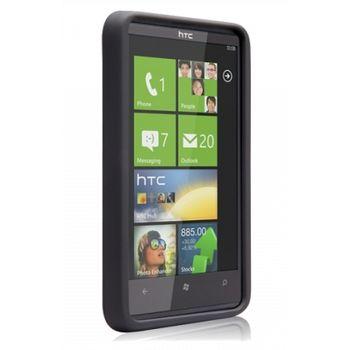 Case Mate pouzdro Barely There Black pro HTC HD7