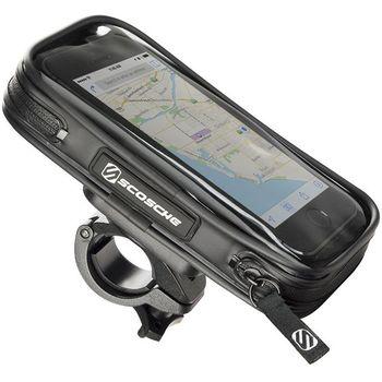 """Scosche HandleIT Pro M držák na kolo na telefony s displejem do 4"""", vnitřní rozměr 130x65"""