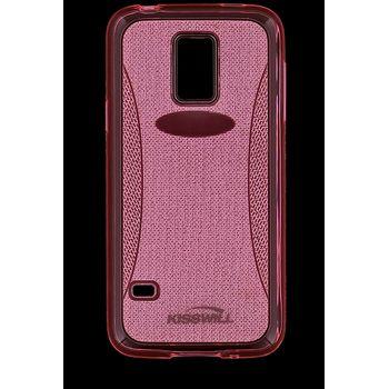 Kisswill TPU Shine pouzdro pro Samsung S7580 Galaxy Trend, růžové