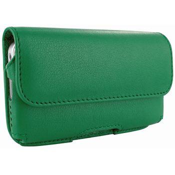 Piel Frama pouzdro pro iPhone 5 Horizontal, Green