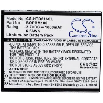 Baterie náhradní pro HTC Desire 610 2040mAh Li-ion