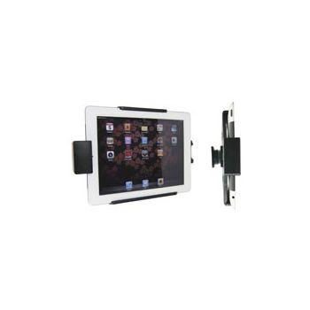 Brodit držák do auta na Apple iPad 2/3/4/Retina bez pouzdra, bez nabíjení, s pružinovým jištěním