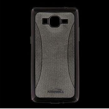 Kisswill TPU Shine pouzdro pro Samsung G530 Galaxy Grand Prime, šedé