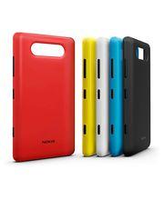 Nokia kryt pro bezdrátové nabíjení CC-3041 - Nokia Lumia 820, černá