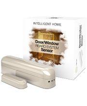 Fibaro bateriový Senzor (magnetický kontakt) na okna a dveře, krémový