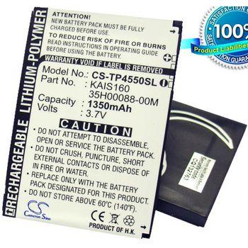 Baterie náhradní (ekv. BA-S210) pro HTC P4550 Kaiser TyTN II, Li-pol 3,7V 1350mAh