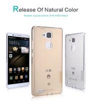 Nillkin pouzdro Nature TPU pro Huawei Ascend Mate7, transparentní
