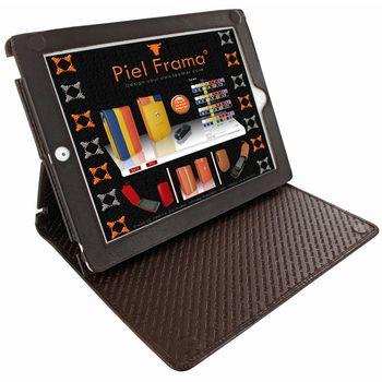 Piel Frama pouzdro pro iPad 4 Cinema, Wild Cocodile Brown