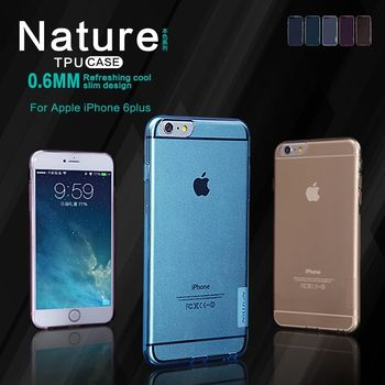 "Nillkin pouzdro Nature TPU pro iPhone 6 Plus 5.5"", transparentní"