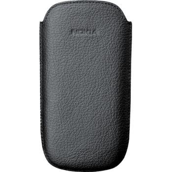 Nokia CP-535 Black kožené pouzdro Nokia Oro