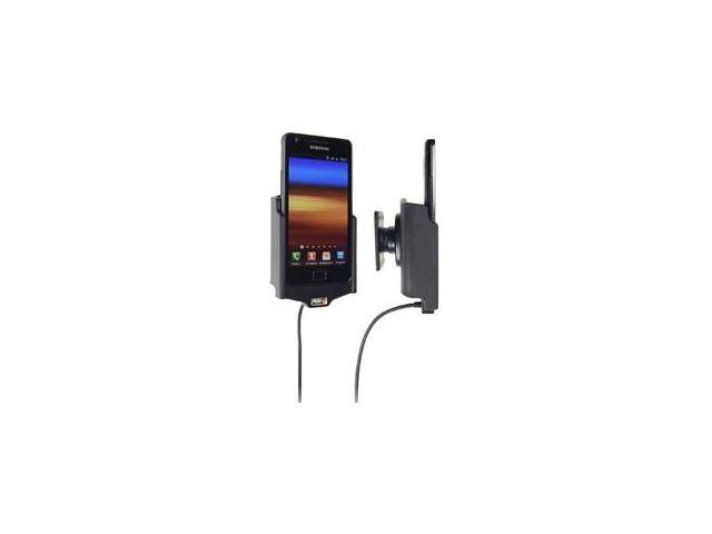obsah balení Brodit držák do auta pro Samsung i9100 Galaxy S II s nabíjením + adaptér pro snadné odebrání držáku z proclipu