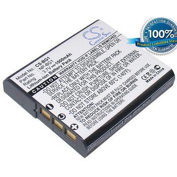 Baterie (ekv. NP-FG1, NP-BG1) pro Sony T20, T100, W35, H7, H9, N1, H3, Li-ion 3,7V 1000mAh