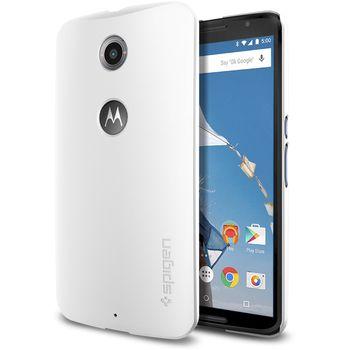 Spigen tenký kryt Thin Fit pro Nexus 6, bílý