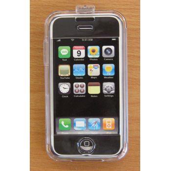 Transparentní pouzdro ST Crystal - Apple iPhone - bílé