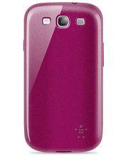 Belkin TPU pouzdro Grip Glam pro Samsung Galaxy S III, purpurové (F8M400cwC02)