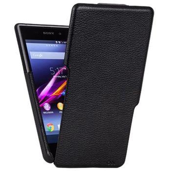 Case Mate flipové pouzdro Signature Flip pro Sony Xperia Z1 Compact, černá