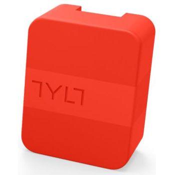Tylt univerzální cestovní nabíječka do sítě 4.8A-WALL, 2x USB port, červená