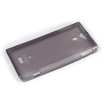Jekod TPU silikonový kryt Sony Xperia U, černá