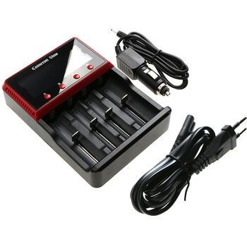 CameronSino nabíječka na 4ks baterie