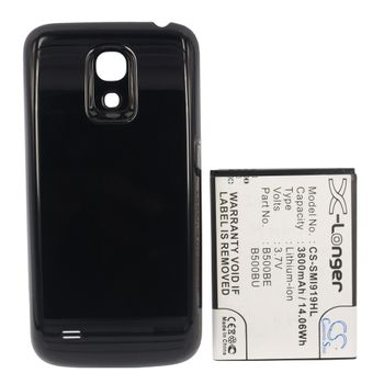 Baterie rozšířená pro Samsung Galaxy S4 mini, 3800mAh, Li-ion + univerzální nabíječka bateriíí