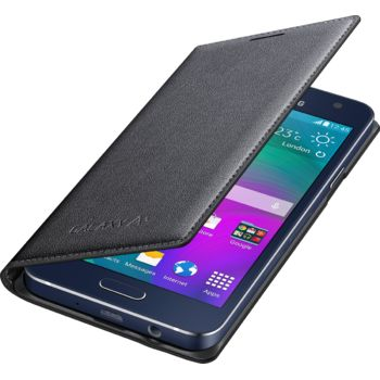 Samsung flipové pouzdro EF-FA300BC pro Galaxy A3, černé