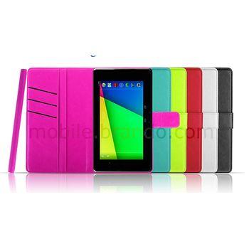 Pouzdro se stojánkem Flip Brando pro Nexus 7 (2013), bílé