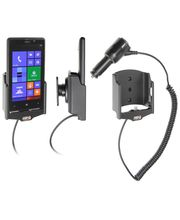 Brodit držák do auta na Nokia Lumia 520 bez pouzdra, s nabíjením z cig. zapalovače