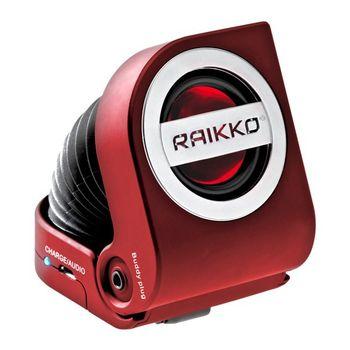 Raikko reproduktor Pump Vacuum, červený