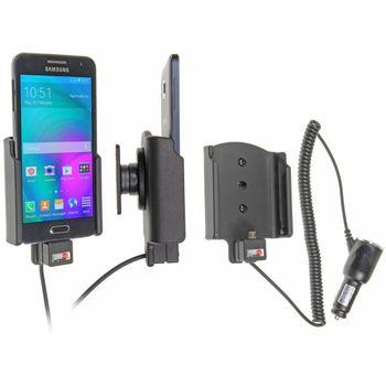 Brodit držák do auta na Samsung Galaxy A3 bez pouzdra, s nabíjením z cig. zapalovače
