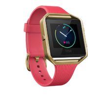 Fitbit Blaze velikost S, zlatá/růžová