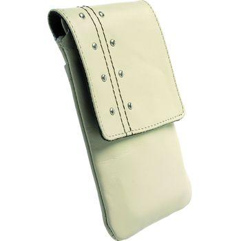 Krusell pouzdro Kalix - iPhone 4/3GS, HTC Desire, Samsung Galaxy S, SE X10/X8 62x116x12mm (béžová)