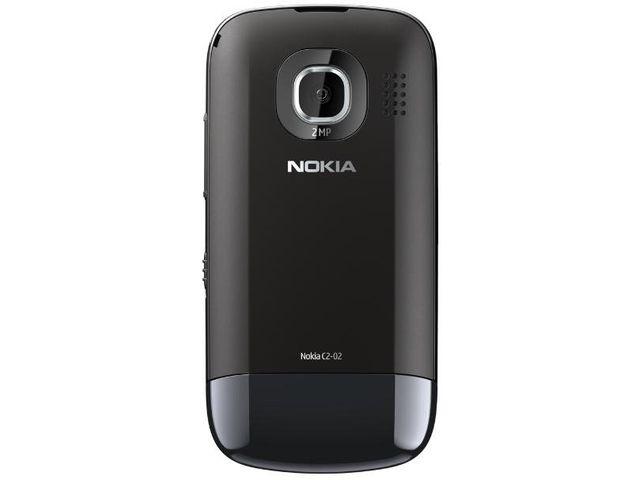 obsah balení Nokia C2-02 Chrome Black + Nabíjecí sada na kolo Nokia