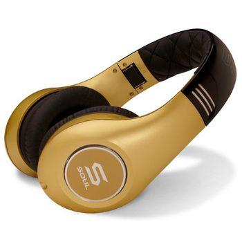 Soul by Ludacris SL300GG náhlavní sluchátka - zlatá