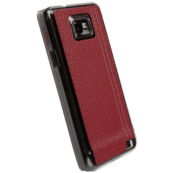Krusell hard case - Gaia Undercover - Samsung i9100 Galaxy S II (červená)