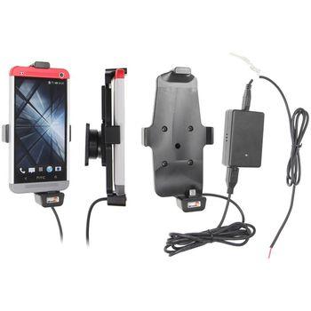 Brodit držák do auta na HTC One v pouzdru, spružinou, se skrytým nabíjením