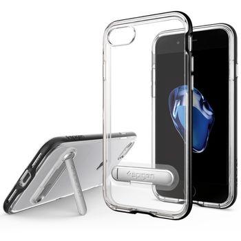 Spigen ochranný kryt Crystal Hybrid pro iPhone 7, černá