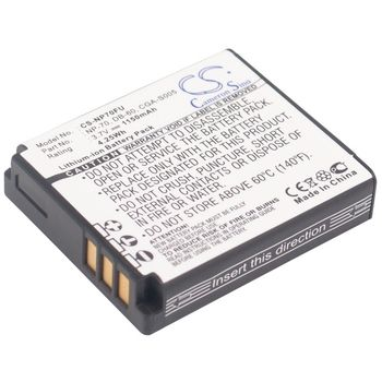 Baterie pro Panasonic Lumix DMC-FX01, 1150mAh, Li-ion