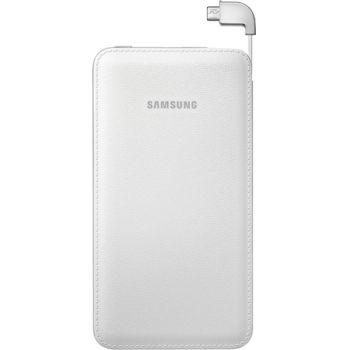 Samsung externí záložní baterie EB-PG900BW, 6000mAh, bílá