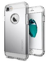 Spigen ochranný kryt Tough Armor pro iPhone 7, stříbrná