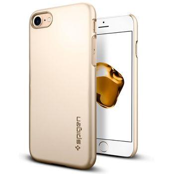 Spigen ochranný kryt Thin Fit pro iPhone 7 plus, zlatá