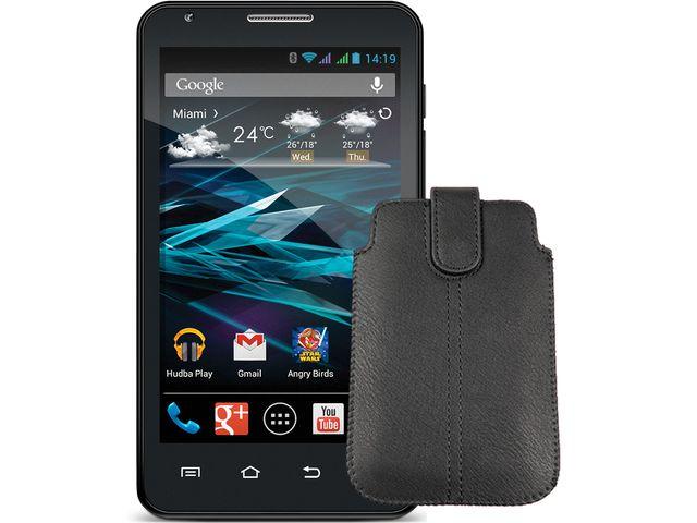 obsah balení EVOLVE FX520 + Ochranný obal s magnetickým uzavíráním MX170 zdarma + SanDisk značková paměťová karta 16GB
