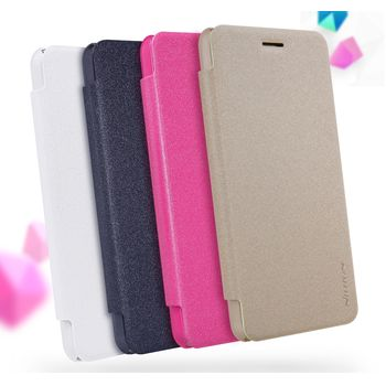 Nillkin flipové pouzdro Sparkle Folio pro Huawei Y6 Pro, bílé
