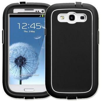 Case Mate Phantom protection case pro Samsung Galaxy S III (i9300) Black/White