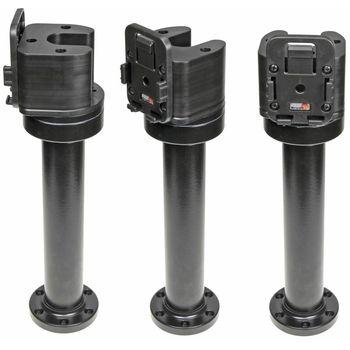 Brodit set otočného montážního podstavce a MultiMove clipu, výška 265 mm, sklon 90°, černý